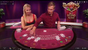 Blackjack Party is een van de mogelijkheden om online live blackjack te spelen