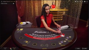 Fortune VIP blackjacktafel